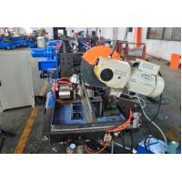 Wholesale 184mm Width 0.7mm-1.2mm Thickness Metal Shutter Door Bottom Roll Forming Machine With Fly Saw Cutting from china suppliers