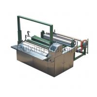 Single Servo Non Woven Wire Cutting Machine Stainless Steel Nonwoven Production
