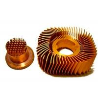 Wholesale Anodized LED Copper Heat Sink Precision Plated Nickel Surface from china suppliers