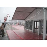 Wholesale 15M Clear Span Aluminum Outdoor Event Tent Designed With Transprent Glass Wall from china suppliers