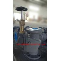 Quality Marine Cast Steel Screw-down Vertical / ANGLE Storm Valve JIS F3060 5K/10K for sale