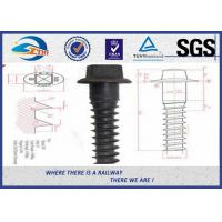 Quality Durable Sleeper Screws UIC864-1 SS Series Crews For Railway Sleepers for sale