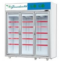 Wholesale Black R404a Upright Glass Door Freezer For Ice Cream Refrigeration from china suppliers