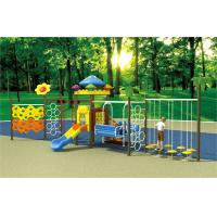 Wholesale newly design outdoor slide playground plastic playsets for daycare from china suppliers