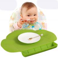 Wholesale BPA Free Safe Silicone Baby Table Mat Silicone Food Placemat For Kids from china suppliers