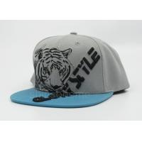 Wholesale Cool Printed Gray Sun Baseball Cap Snapback Adjustable For Party from china suppliers