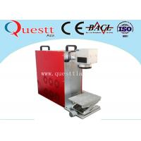 Wholesale Desktop Fiber Laser Marking Machine 20 Watt Laptop Free Mark Area Adjustable from china suppliers
