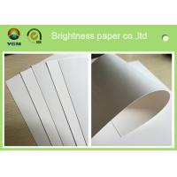 Wholesale Full Gsm Decorative Boxes Paper , Folding Box Board With Two Sides White from china suppliers