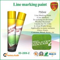 Buy cheap Quick Color Line spray marker paint For Concrete / Asphalt / Glass / Wood from wholesalers