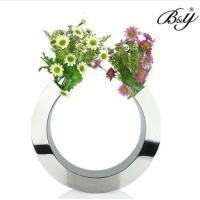 Wholesale customied metal C shaped flower vase from china suppliers