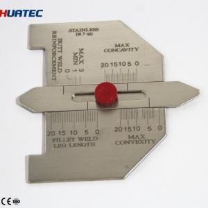 Buy cheap Automatic Weld Size Weld Gage Cambridge Type Weld Gauge  Welding Gauge Series Taper gauge from wholesalers