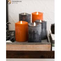 Wholesale Flame LED wax fall Candle of natural beauty and beautiful autumn colors from china suppliers