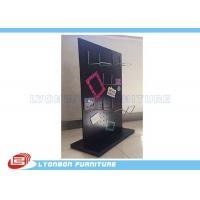 Wholesale Wallet Display Selling Wooden Display Stands MDF Magnetic Display With Metal Hooks from china suppliers