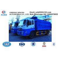 Wholesale Dongfeng Tianjin garbage dump truck waste disposal truck for sale, Factory sale best price dump garbage truck from china suppliers