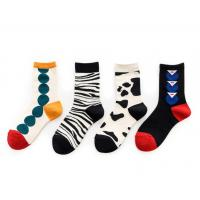 China Colorful Fashion Women's Novelty Socks Knitted Technics For Ladies Party for sale
