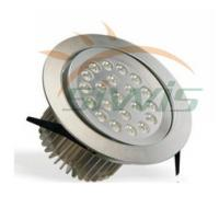 Wholesale Indoor LED Recessed Downlights Silver Aluminum , 220V 21W 2100 Lm from china suppliers