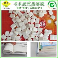 Wholesale EVA Based Polyester Hot Melt Adhesive , Hot Melt Pellets Glue For Perfect Binding from china suppliers