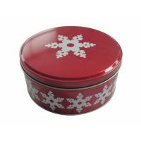 Quality Small Metal Round Tin Containers For Candy / Coffee / Candle / Chocolate for sale