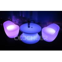 Wholesale LED Furniture Weatherproof illuminated coffee table 16 Colours w Remote from china suppliers