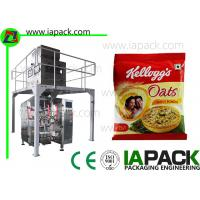 Wholesale Automatic Oatmeal Packing Machine Food Packaging Machine Automatic Granule Packaging Machine for Daily Oatmeal from china suppliers