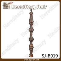 Wholesale Retro Red Antique Casting Aluminum Balustrade for Staircase (SJ-B019) from china suppliers