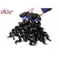 Wholesale One Young Girl's Healthy Peruvian Virgin Hair Loose Wave Bundles Natural Color from china suppliers