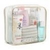 Eco Friendly Plastic Makeup Bag , Clear PVC Makeup Organizer Bag OEM Accepted for sale