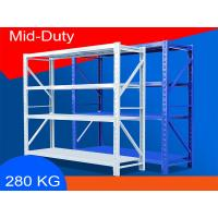 China Eco Friendly Warehouse Storage Shelves Industrial Metal Shelving 2000*600*2000mm on sale