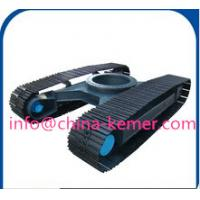 Buy cheap 6ton steel shassi/customization standard/nonstandard/Agricultural machinery undercarriage/drilling rig carrying device from wholesalers