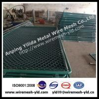 Wholesale PVC coated chain link fence specification from china suppliers