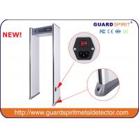 Wholesale Guard Spirit 6 zone Archway metal detector / Walk Through Metal Detector With 4 Led Columns from china suppliers