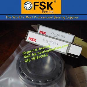 Quality Cheap Spherical Roller Bearings 55*100*25mm NSK 22211CDKE4 for sale