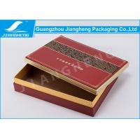 Wholesale Matt / Glossy Lamination Red Cardboard Gift Boxes For Skin Care Gift Set from china suppliers