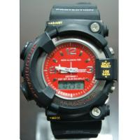 Wholesale Big Case S Shock Analog-digital Watch , Stainless Steel Back Water Resistant Watch from china suppliers