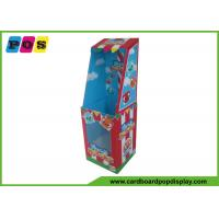 China Point Of Purchase Dolls Cardboard Retail Display Stands With PVC Windows FL086 on sale