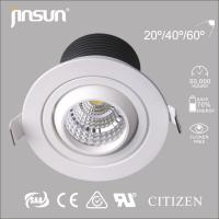 Wholesale zhongshan led lighting fixture 7W bridgelux cob downlight high lumen lamp from china suppliers