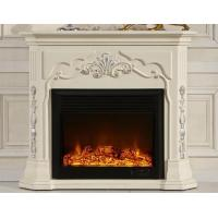 Wholesale White European Electric Fireplace Decorative Freestanding Electric Fireplace from china suppliers