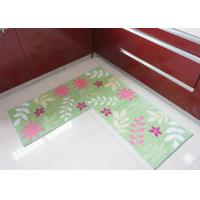 Wholesale Skidproof comfortable soft Environmental non slip bath mat , washable kitchen rugs from china suppliers