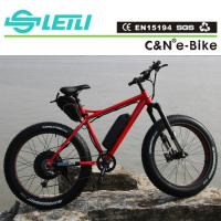 Buy cheap Good quality fat tire electric bike 48V 1000W electric fat tire bike from wholesalers