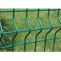 Wholesale High Security Electric Galvanized Welded Green 4x4 Wire Mesh Fencing from china suppliers