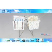 Wholesale Bathroom Mini Butterfly Stainless Steel Towel Rack with Metal Meshes from china suppliers