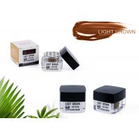 Wholesale Safety Plant Tattoo Pigment Light Brown Eyebrow Permanent Makeup Ink Colors from china suppliers
