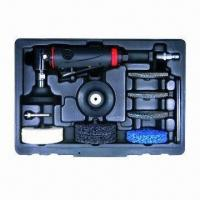 Wholesale Complete Surface Prep Kit w/ Composite Body 1/4 90° Angle Die Grinder and Surface Prep Discs from china suppliers
