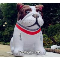 Wholesale Customized 4m Height Cute Inflatable Mangy Dog Model for Pet Shop from china suppliers