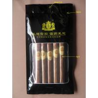 Quality Colorful Printed Zipper Resealable Cigars Humidor Bags To Keep Cuban Cigars Fresh And In Good Taste for sale