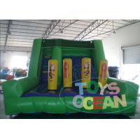 Wholesale Inflatable Obstacle Course Monkey Jungle Battle Slide For Kids And Adults from china suppliers
