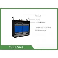 Wholesale High Consistency Rechargeable Lifepo4 Battery 24V 200AH With BMS from china suppliers