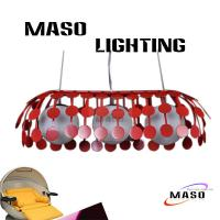Wholesale Iron Spot Pendant Three Lamp Abreast Hanging Ajustable Steel Lighting Fixture MS-I6029 from china suppliers