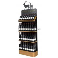 Wholesale Freestanding Custom Wooden Wine Display Rack For Liquor Store Advertising from china suppliers