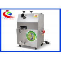 Quality Stainless steel sugar cane juice making machine/sugar cane juice extractor for sale